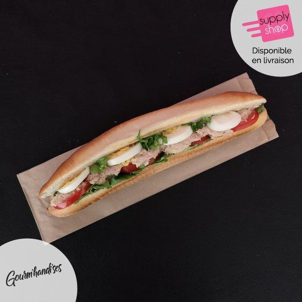 Sandwich crudités au thon Gourm'handi'ses