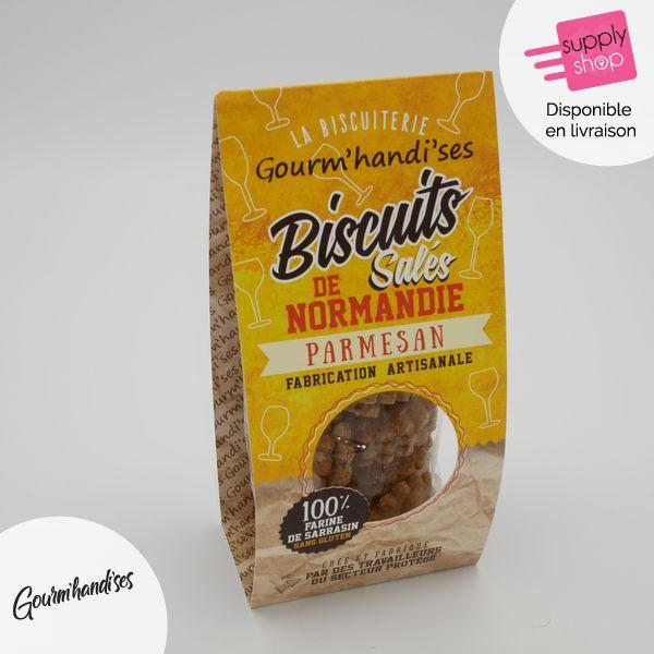 Crackers parmesan Gourm'handi'ses