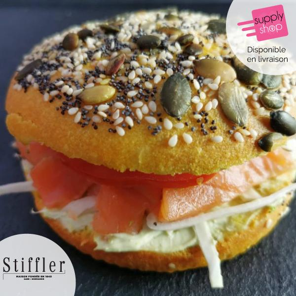Sandwich gravlax saumon Stiffler