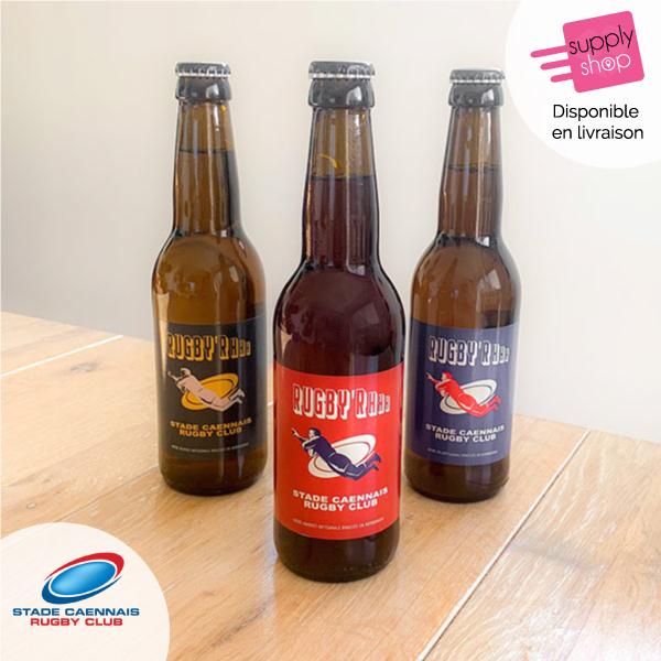 Bière Brasserie de l'Odon Stade Caennais Rugby Club